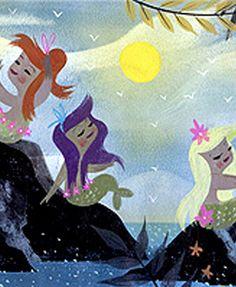Mary Blair mermaids Peter Pan