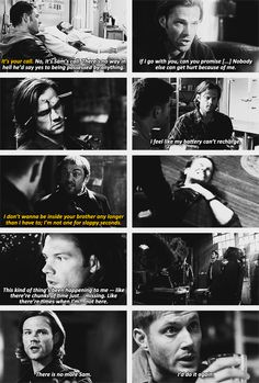 (gif set) Reasons Why Sam's Anger is Justified ||| Supernatural Season 9
