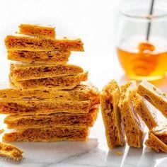 Burnt Sugar Almonds (Gebrannte Mandeln) - Saving Room for Dessert Crunchie Bar, Honeycomb Recipe, Honeycomb Candy, Sea Foam Candy, Mushroom Wine Sauce, Fairy Food, Food Plot, Coconut Candy, Kitchen Gadgets