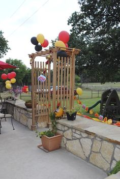 Firetruck Birthday Party Ideas | Photo 4 of 24 | Catch My Party