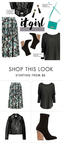"""""""It girl style secrets"""" by lux-life ❤ liked on Polyvore featuring Hermès, Yves Saint Laurent, Haute Hippie and Maiyet"""