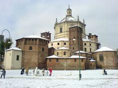 * Basílica de San Lorenzo * Milão, Região da Lombardia. Itália.
