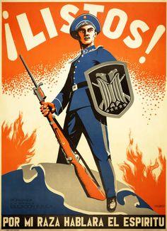 Military Poster / Print: ¡Listos! por mi raza... | Pritzker Military Museum & Library | Chicago