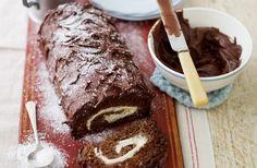 Fay Ripley's chocolate Yule log | Tesco Real Food