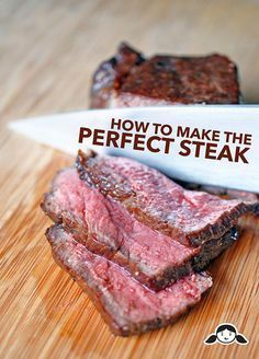 Perfect Oven & Pan-Seared NY Strip Steaks