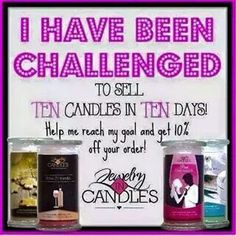 We have over 50 scents to choose from. Get yours today at www.jewelryincandles.com/store/sunshine81588. Use coupon code: Easter to save 10%.