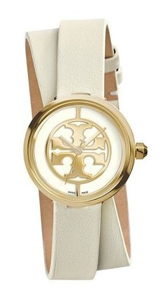 One of our favorite ways to say Happy Mother's Day...  Named after Tory's mother, the Reva Watch in ivory