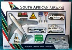 South African Airways Airport Playset