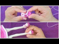 Zapatos para Muñeca a Crochet - Modelo #2 - YouTube