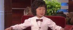 Child Prodigy Cellist Justin Yu Teaches Ellen His Victory Dance