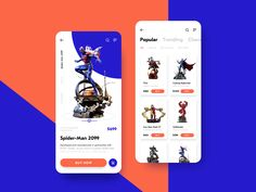 Action Figures Ecommerce App designed by tubik. Connect with them on Dribbble; the global community for designers and creative professionals. Ecommerce App, App Ui, Ui Ux, Interface Design, User Interface, App Design, Design Concepts, Mobile Design, Design Ideas