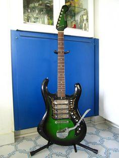 1960's Greenburst Guitar Oceans of Vintage MoJo by Lovalon on Etsy, $600.00