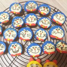 ドラえもんかわいいアイスボックスクッキー by プクル [クックパッド] 簡単おいしいみんなのレシピが233万品