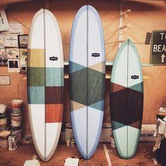 """3 beauties from @almondsurfboards #watermansguild #cutlap #almondsurfboards #surf"""