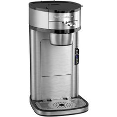 """Hamilton Beach """"The Scoop"""" coffee maker will replace the keurig. No K-cups. Which would you choose? Just scoop and push into the machine. Don't get me wrong, I love the K-cups but they are way too expensive."""