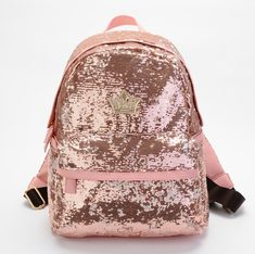 Sparkling Backpack to school! XD