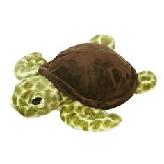 Your little one will discover endless cuddles with the Sea Turtle Plush Toy from Aurora World. Modeled after the fascinating sea creature, this super soft stuffed animal wears a shell and has spots all over its body. Young Animal, My Animal, Largest Sea Turtle, Sea Turtle Pictures, Turtle Plush, Tortoise Care, Plush Animals, Stuffed Animals, Animal Faces