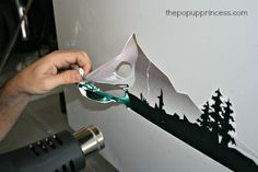 Exterior Makeover: Removing the Decals - The Pop Up Princess