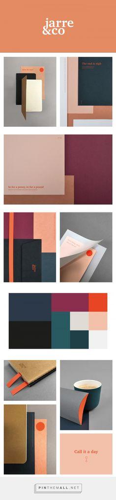 Jarre&co branding by Anne Olsen on Behance