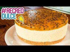 Cheesecake de Maracuyá | Recreo Dulce - YouTube