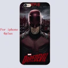 New arrived Daredevil Season Design white skin case cover cell phone cases for iphone 4 4s 5 5c 5s 6 6s 6plus