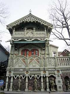 Circa 1871  Beautifully and lovingly restored Victorian cottage (1871) located in Historic Mount Tabor, NJ.  Exceptional example of Old World craftsmanship. New Jersey