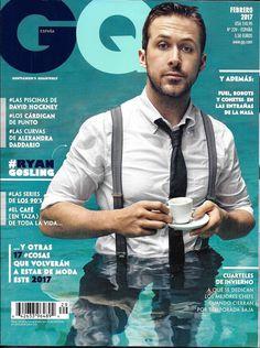 GQ magazine Ryan Gosling David Hockney Alexandra Daddario NASA Jamie Dornan