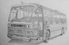 Barton Transport 1321 - 1973 Duple 'Dominant' bodied Bedford YRT