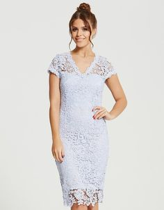Paper Dolls Crochet Lace Dress