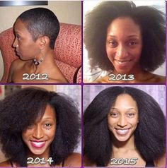 Don't you let the the creamy crackheads tell you your natural hair will not grow