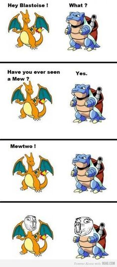 Lol! #funny #pokemon #blastoise #charizard