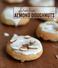 Gluten Free Almond Doughnuts