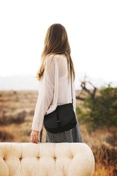 BLACK CLASSY, Ann Kurz ° http://onyva.ch/brands/ann-kurz/ #umhängetasche #shoulderbag #leather #leder