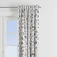 The Adorable Bacati Owls in the Woods Beige/Grey Window Curtain Panel with Multiple Prints to choose from to create a unique look Add a whimsical touch to your precious child's bedroom decor. Bacati is known for its fun, colorful, and signature fabrics and prints. Part of our larger collection, we bring you the charming, cozy, Owls in the Woods in beige and grey. Soft, natural fibers. Biodegradable & Earth-Friendly. Cover up your window with this elegant piece of designer curtain! Dimensions Grey Curtains, Window Curtains, Kids Bedroom, Bedroom Decor, Three Season Porch, Grey Windows, Thing 1, Curtain Designs, Grey Bedding