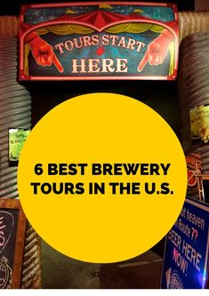 6 Best Brewery Tours in the U.S – Curtis Thompson 6 Best Brewery Tours in the U.S 6 Best Brewery Tours in the U.- Great guide for craft beer lovers! Craft Bier, Best Craft Beers, Gifts For Beer Lovers, Beer Brewery, Brew Pub, Beer Tasting, How To Make Beer, Best Beer, Home Brewing