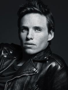 The beautiful man that is to be Marius in the upcoming movie Les Miserables. Eddie Redmayne!