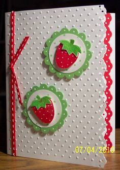 Tart & Tangy by BLN - Cards and Paper Crafts at Splitcoaststampers  (Feb'13)