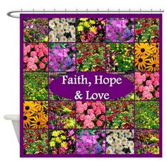 A beautiful wild flower photo collage with the message of Faith, Hope, and Love Tees, Home Decor, & Gifts http://www.cafepress.com/heavenlyblessings.1447986283 #wildflowers #Flowerphotography #BelieveinGod #Floraldesign #Floralpattern #Wildflowerdecor #FaithHopeLove #ChristianGifts