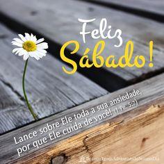 Deus cuida de você!