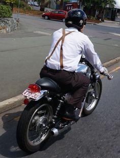 Distinguished Gentlemen's Ride in Brisbane. Read all about it: http://motorbikewriter.com/distinguished-gentlemens-ride-success/