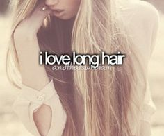 "And that's who I am. I'm gonna let my hair grow long like I'll start saying ""long hair don't care"""