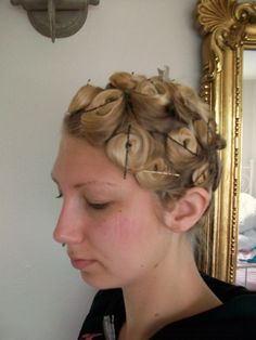 A how to - PIN CURLS