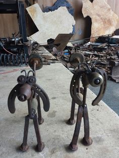 Hand drill puppy dogs Horseshoes  Railroad spikes. Antique drill