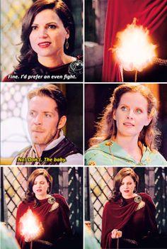 """Regina, Robin and Zelena - 5 * 7 """"Nimue"""" #OutlawQueen"""