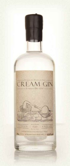 Cream Gin - £47.00 per bottle - I want to try the gin that is made with 100ml of cream per bottle!!
