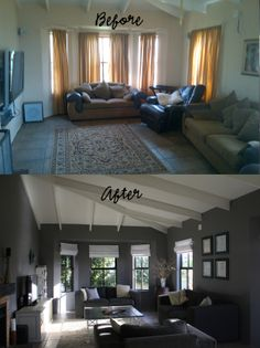 Living room make over