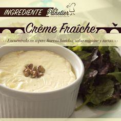 La Crème Fraîche es uno de los ingredientes tradicionales en la comida, en especial, en las cocinas del noroeste de este país