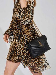 Saint Laurent - LouLou Shoulder Bag | Kirna Zabête Ysl Crossbody Bag, Ysl Bag, Satchel, Chic Outfits, Fashion Outfits, Girly Outfits, Trendy Outfits, Louis Vuitton Bags, Fashion Beauty