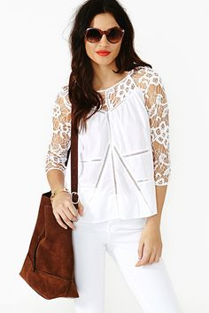 Free Love Lace Top