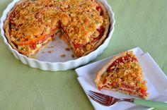 Heirloom Tomato Squash Tart
